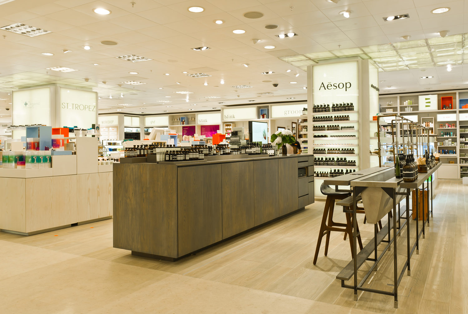 Aesop in Selfridges - London