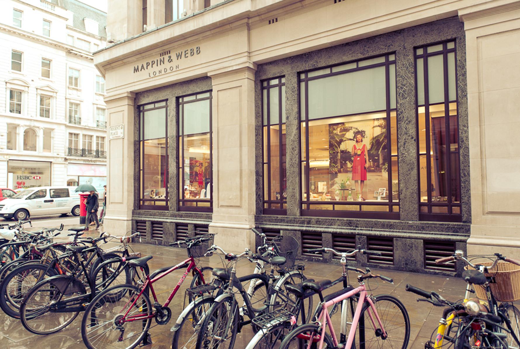 Mappin & Webb in Regent Street London