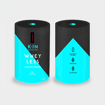 Whey Less Protein Powder 1KG Design