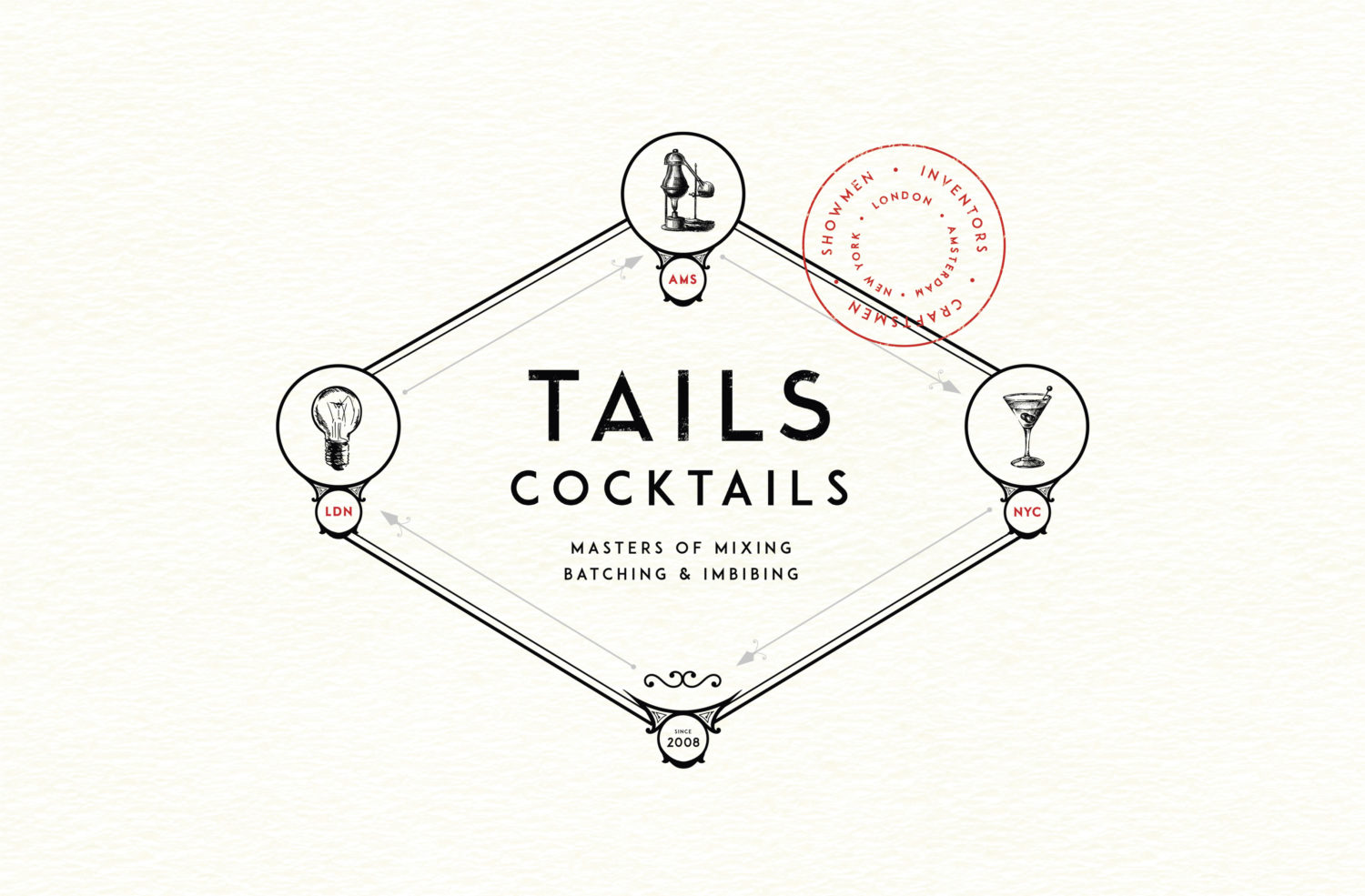 Tails Cocktails Final Brand Identity