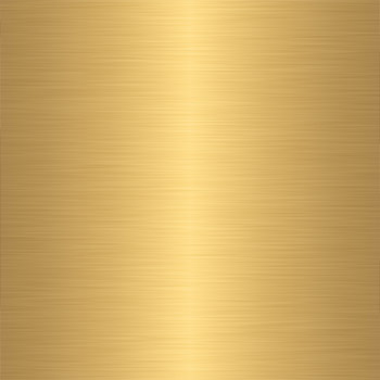 Metal - gold brass polished finish