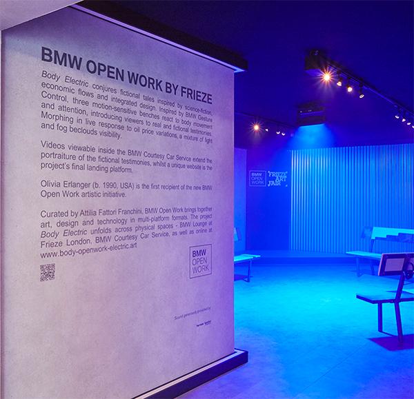 BMW Open Work by Frieze