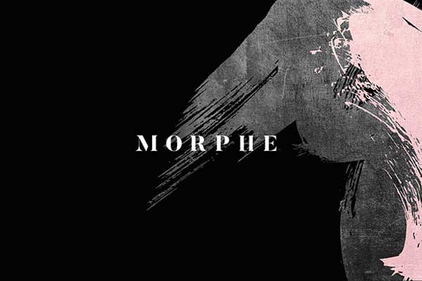 Morphe Logo Brush Stroke