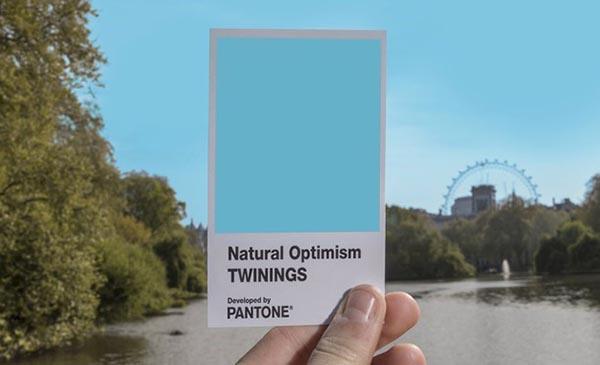 Color of Natural Optimism