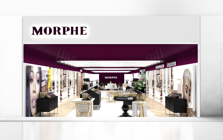 Morphe Interior Store Design Concept #3