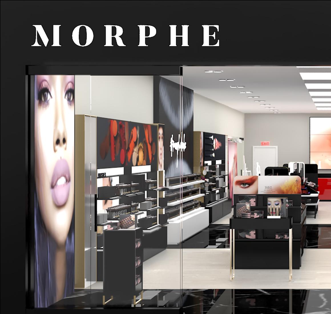 Morphe Interior Retail Design Concept Management 3