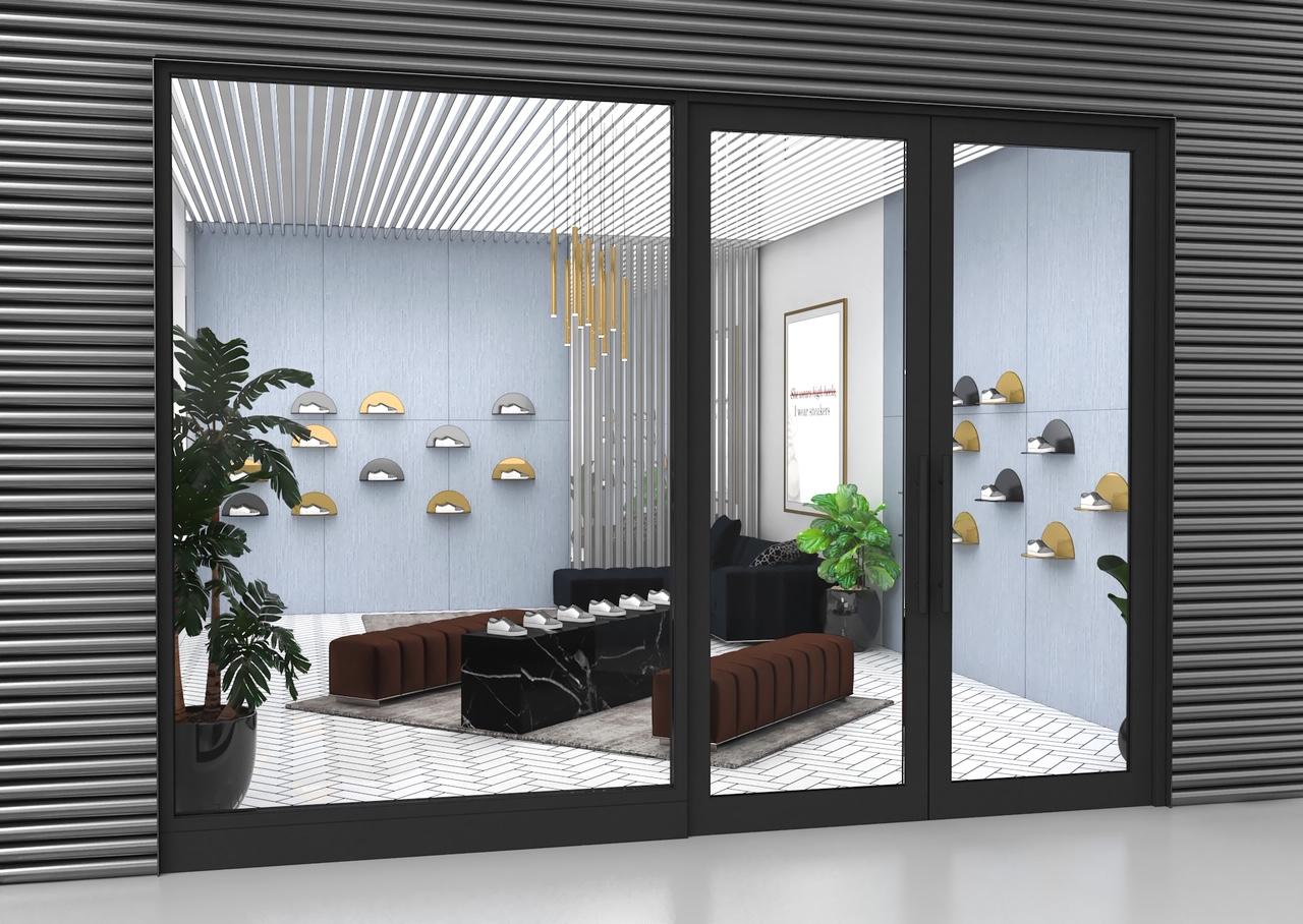sneaker room concept