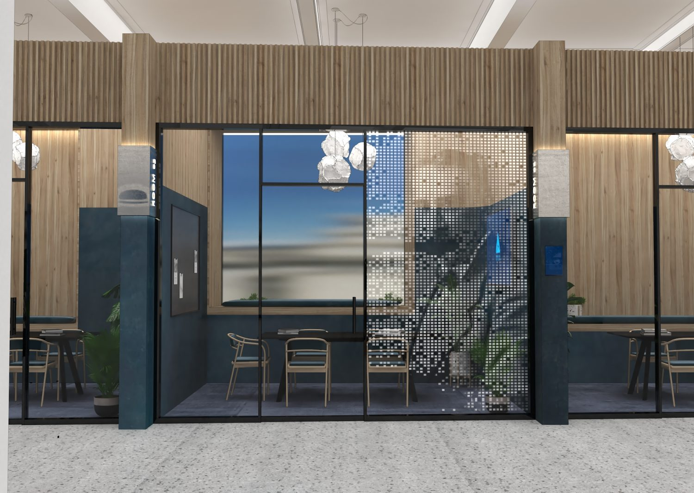 Sheridan&Co TBC Bank Interior Design co-working meeting room design