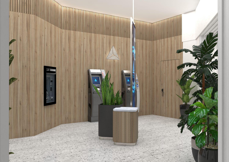 Sheridan&Co TBC Bank Interior digital banking design
