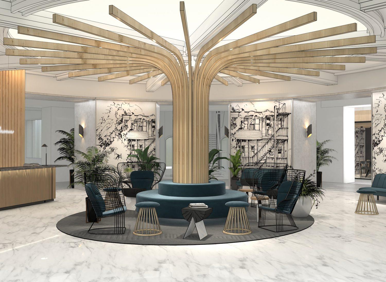 Sheridan&Co TBC Bank Interior Design Concept 3